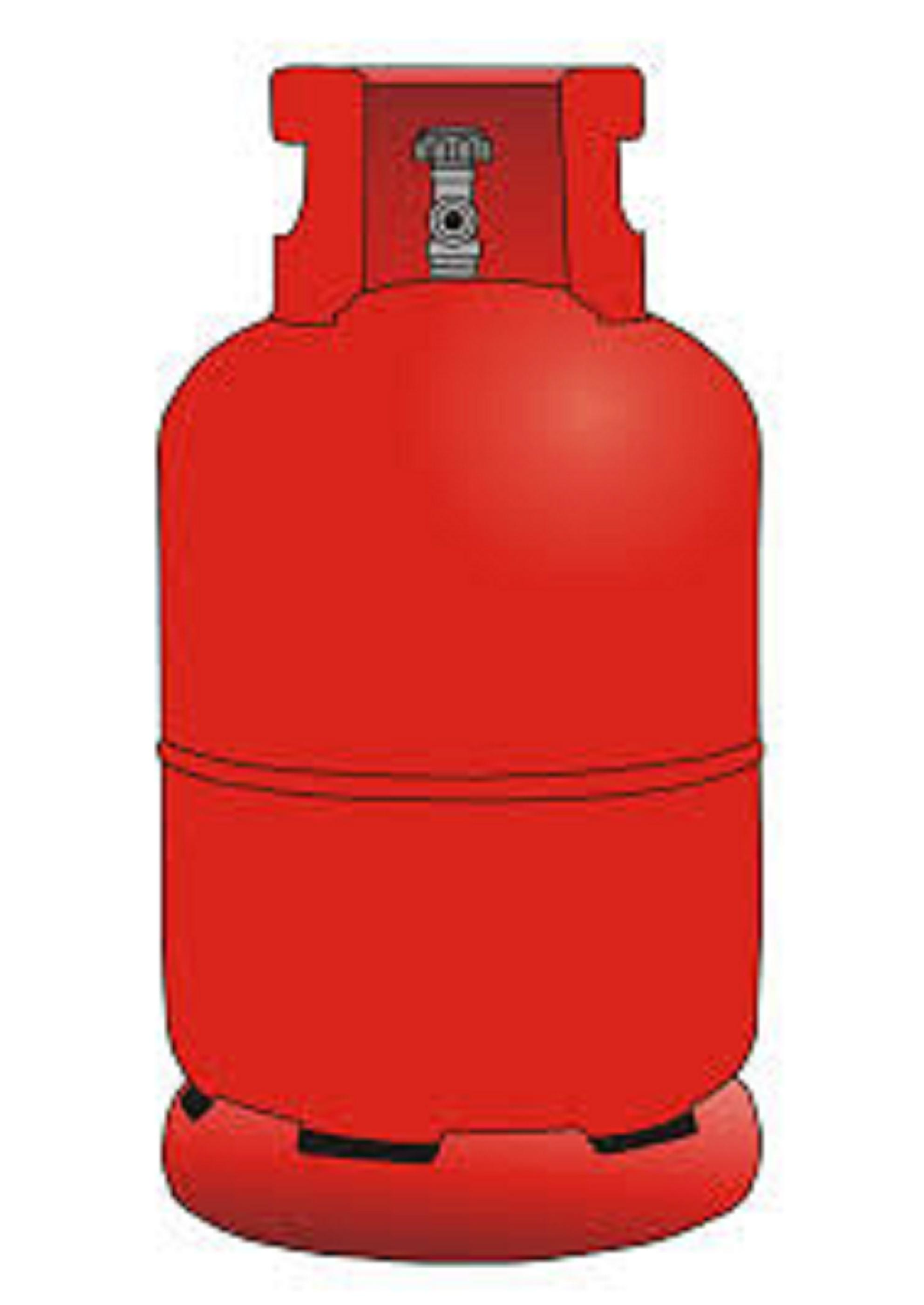 Cooking Gas Cylinder Clipart.