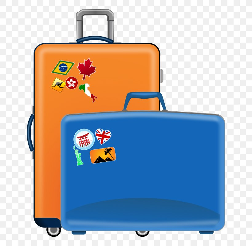 Suitcase Baggage Travel Clip Art, PNG, 800x800px, Suitcase.
