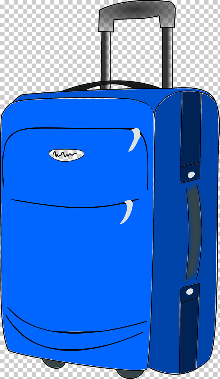 Baggage Suitcase Travel , luggage PNG clipart.