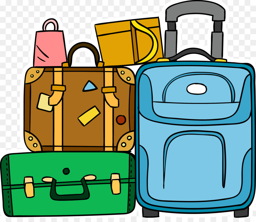 Travel Backpack clipart.