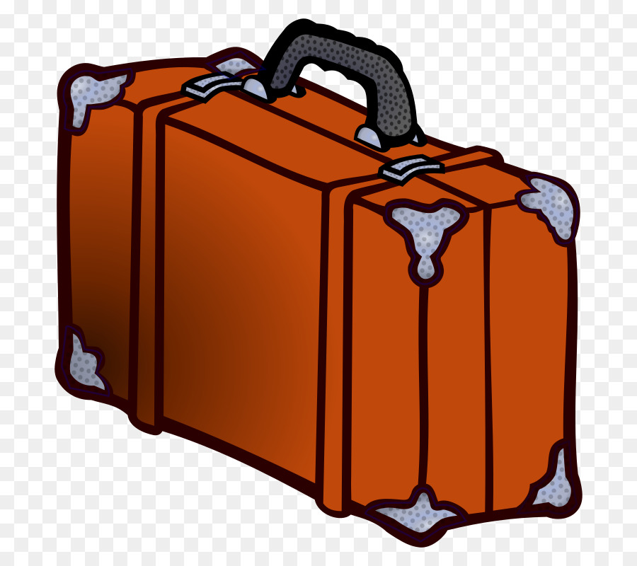 Suitcase Cartoon clipart.