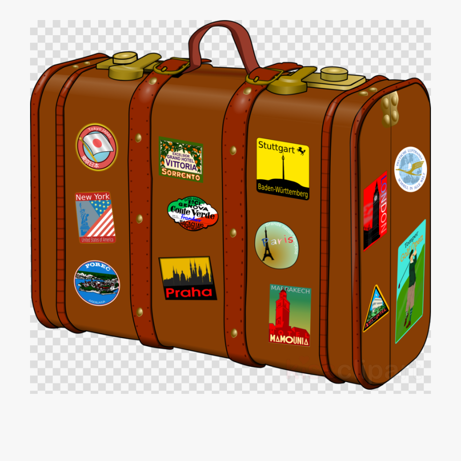 Traveling clipart travel suitcase, Traveling travel suitcase.