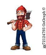 Lumberjack Clip Art.
