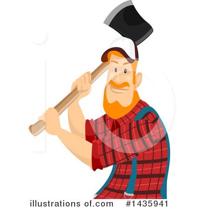 Lumberjack Clipart #1435941.