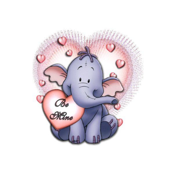 Free Disney\'s Lumpy the Heffalump Cartoon Clipart.