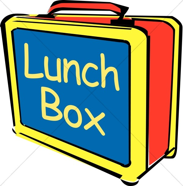 484 Lunch Box free clipart.