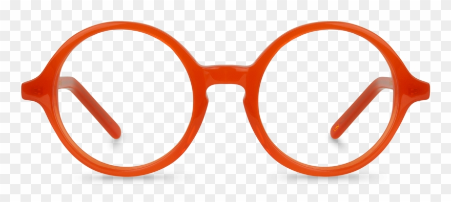 Spectacles Clipart Red Glass.