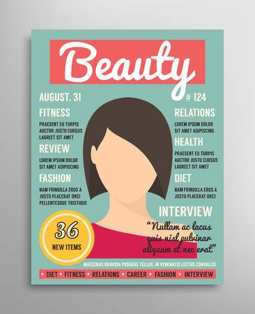 170,936 Magazine Cover Stock Vector Illustration And Royalty Free.