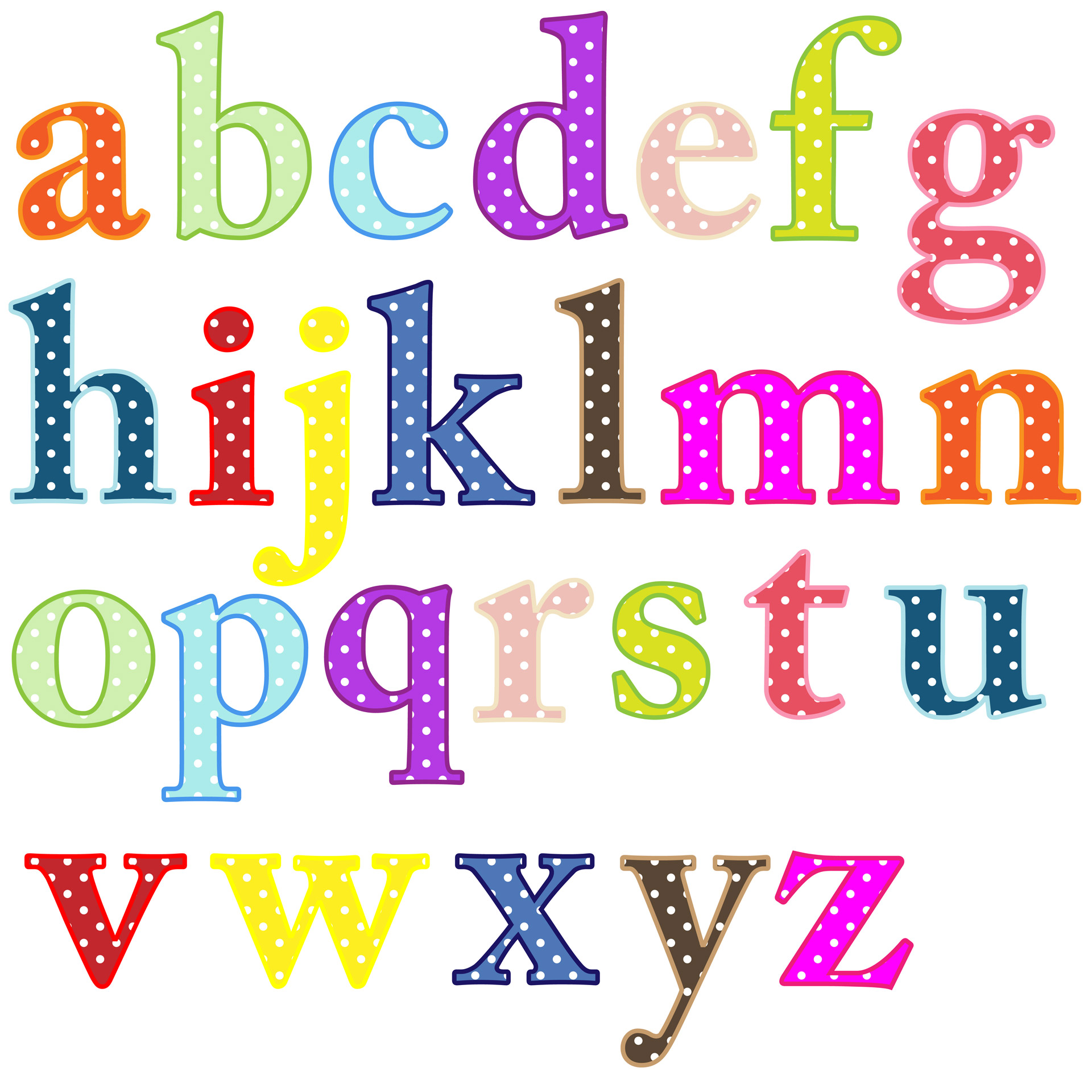 Alphabet Letters From Magazine Free Stock Photo.