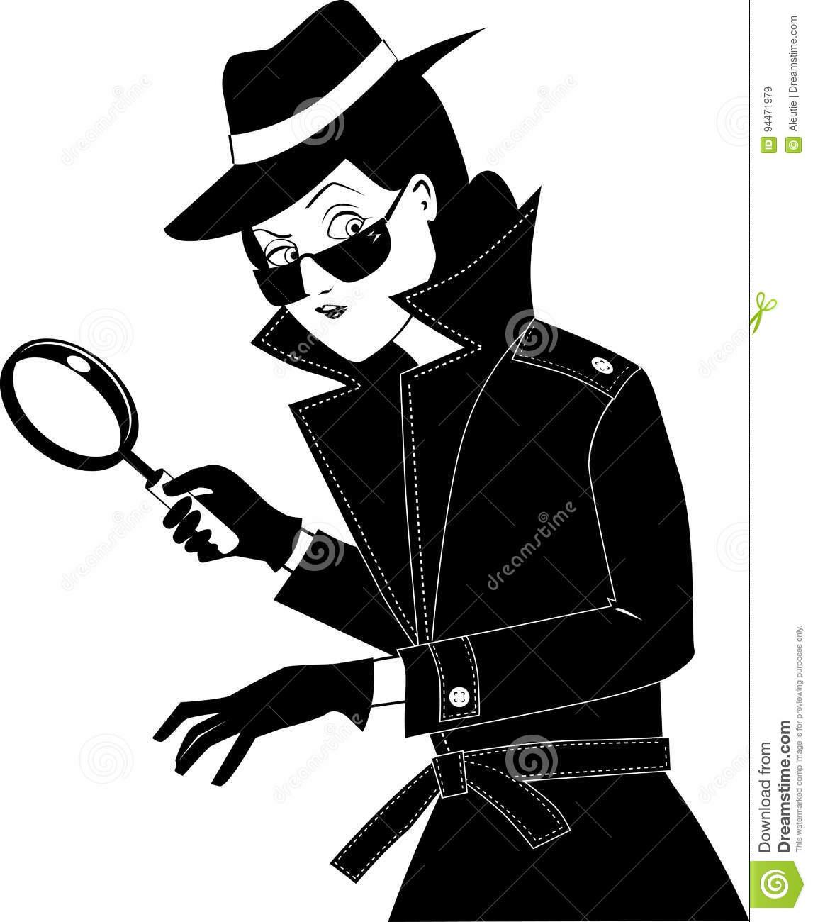 Secret agent clip.