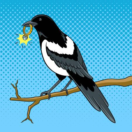 944 Magpie Cliparts, Stock Vector And Royalty Free Magpie Illustrations.