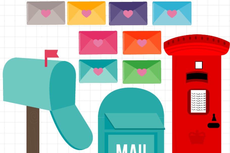 Mailbox London Clipart.