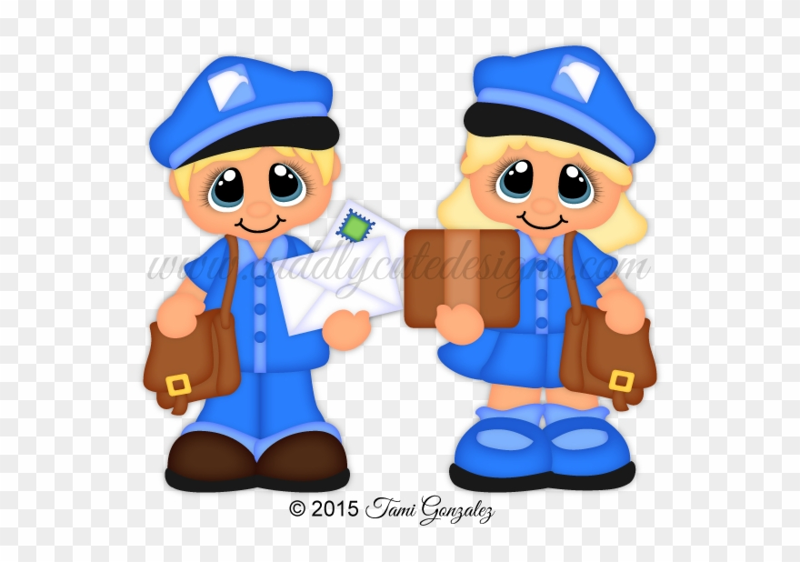 Mail Carrier Clipart At Getdrawings.