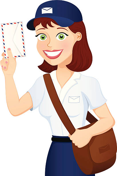 Best Mail Carrier Illustrations, Royalty.