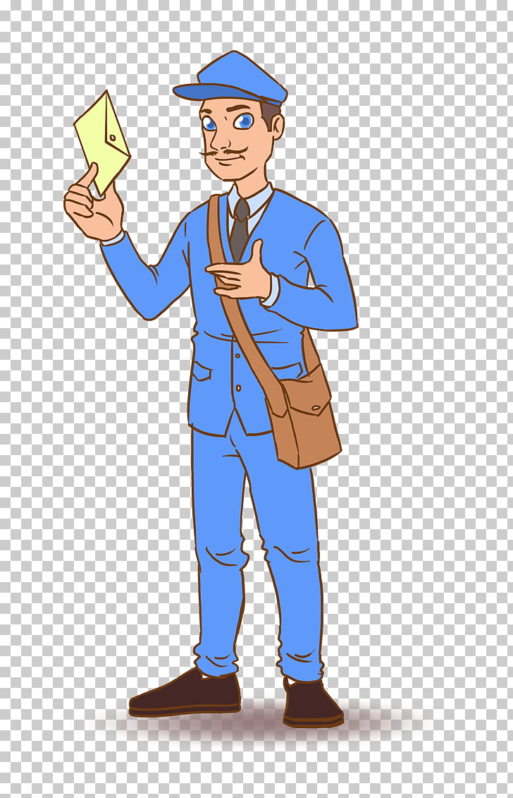 Mail carrier , Mailman s PNG clipart.