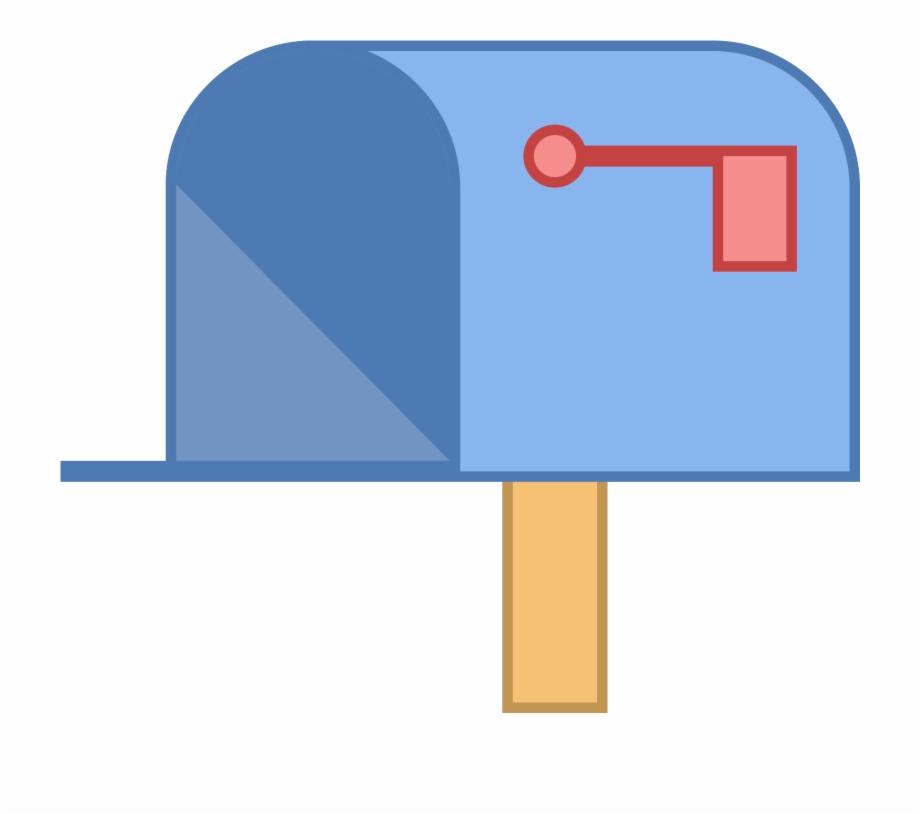 Mailbox Clipart Mailbox Flag.