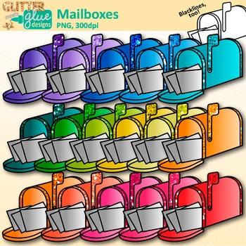 Mailbox Clip Art: Community Helper Post Office Graphics {Glitter Meets Glue}.
