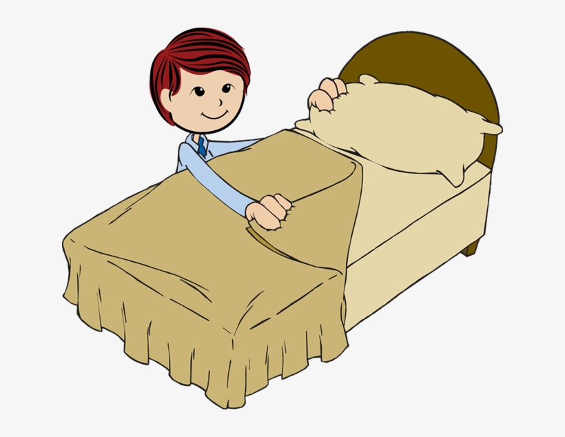 Make The Bed Clipart.