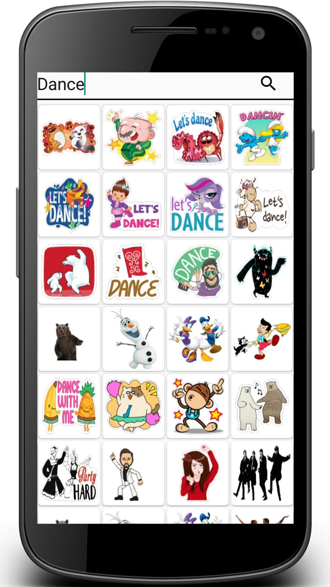 Stiker: Word To Sticker Maker App for Android.