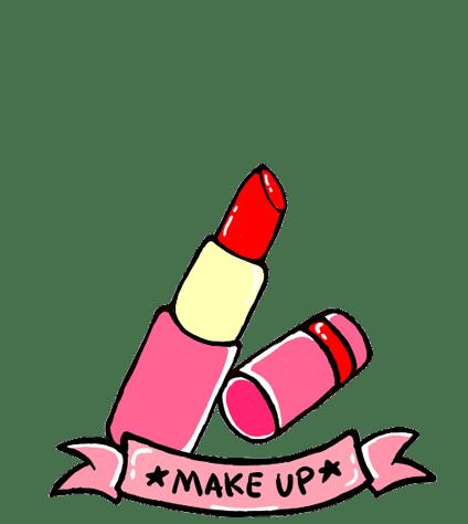 Makeup Clipart transparent PNG.