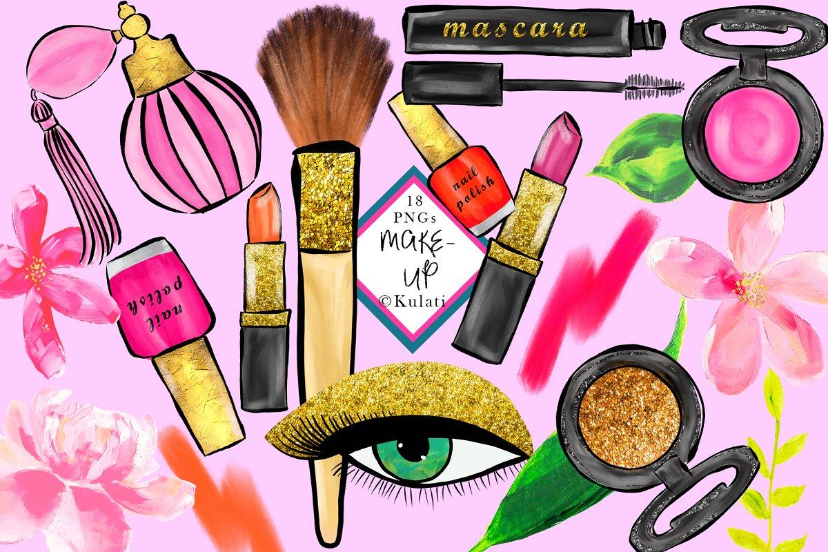 Makeup Clipart / Graphics.