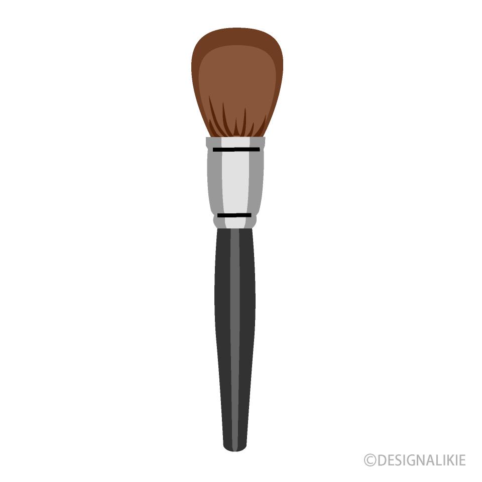 Free Makeup Brush Clipart Image Illustoon.