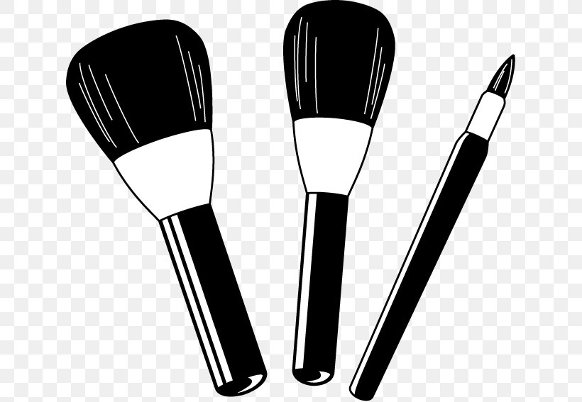 Cosmetics Makeup Brush Rouge Clip Art, PNG, 633x567px.