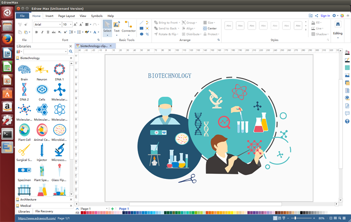 Edraw clipart software is a professional in making vector.