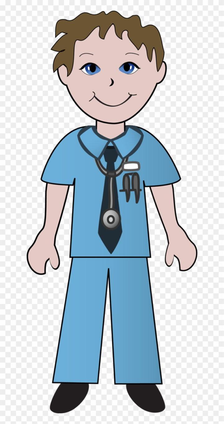 Free Clip Art School Nurse Clipart Image Male Nurse Clip Art.