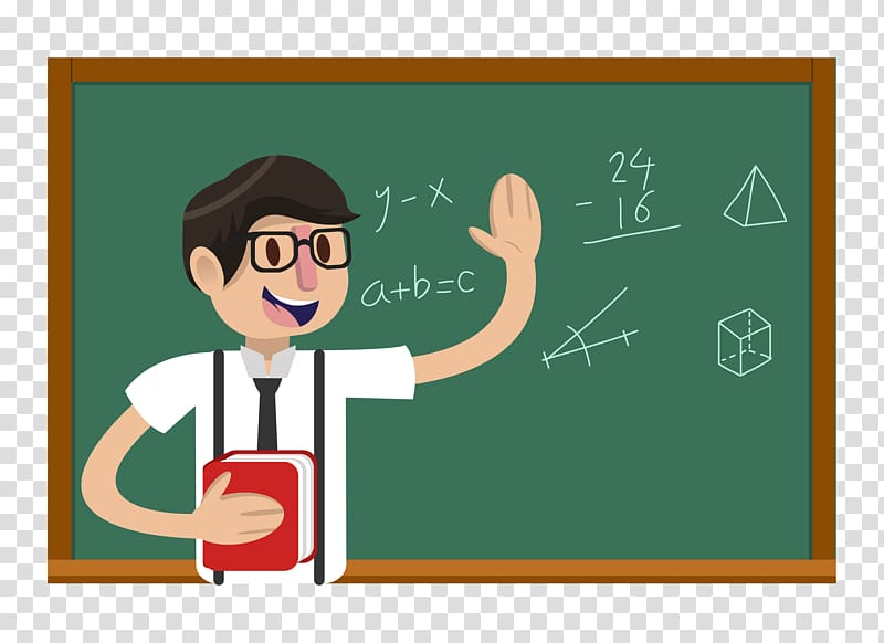 Teacher illustration, Teachers Day Student Education.