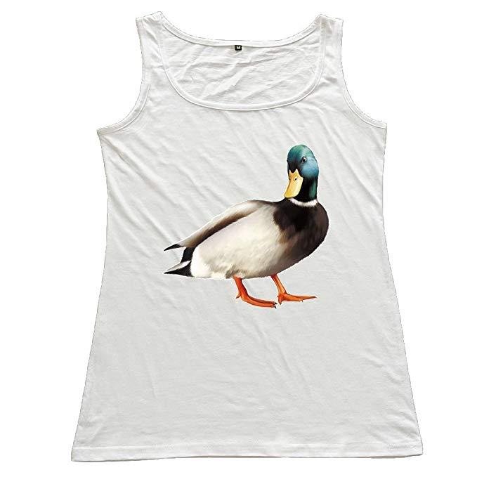Amazon.com: Mallard Duck Print Clipart Ladies' Scoop.