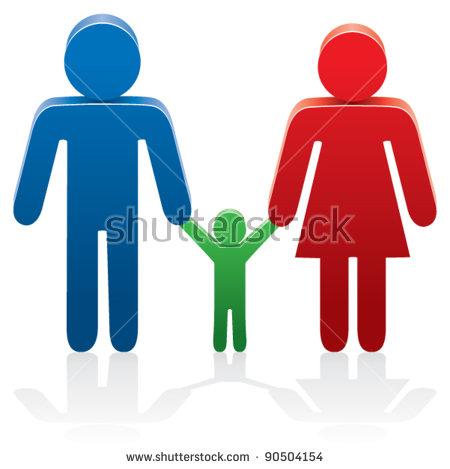 Motherhood Icons Banco de imágenes. Fotos y vectores libres de.