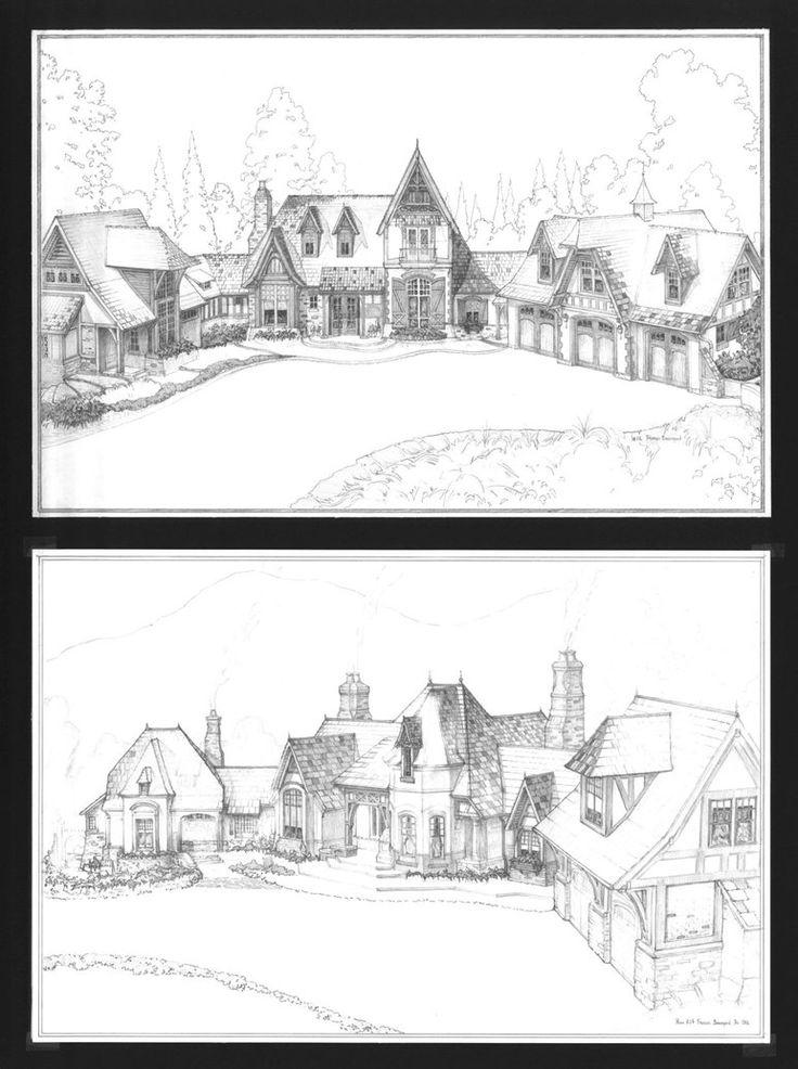 Medieval town 2 by ~Hetman80 on deviantART split level, face under.