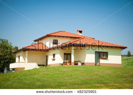 Rural House Stock Images, Royalty.