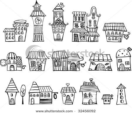 17+ best ideas about House Doodle on Pinterest.