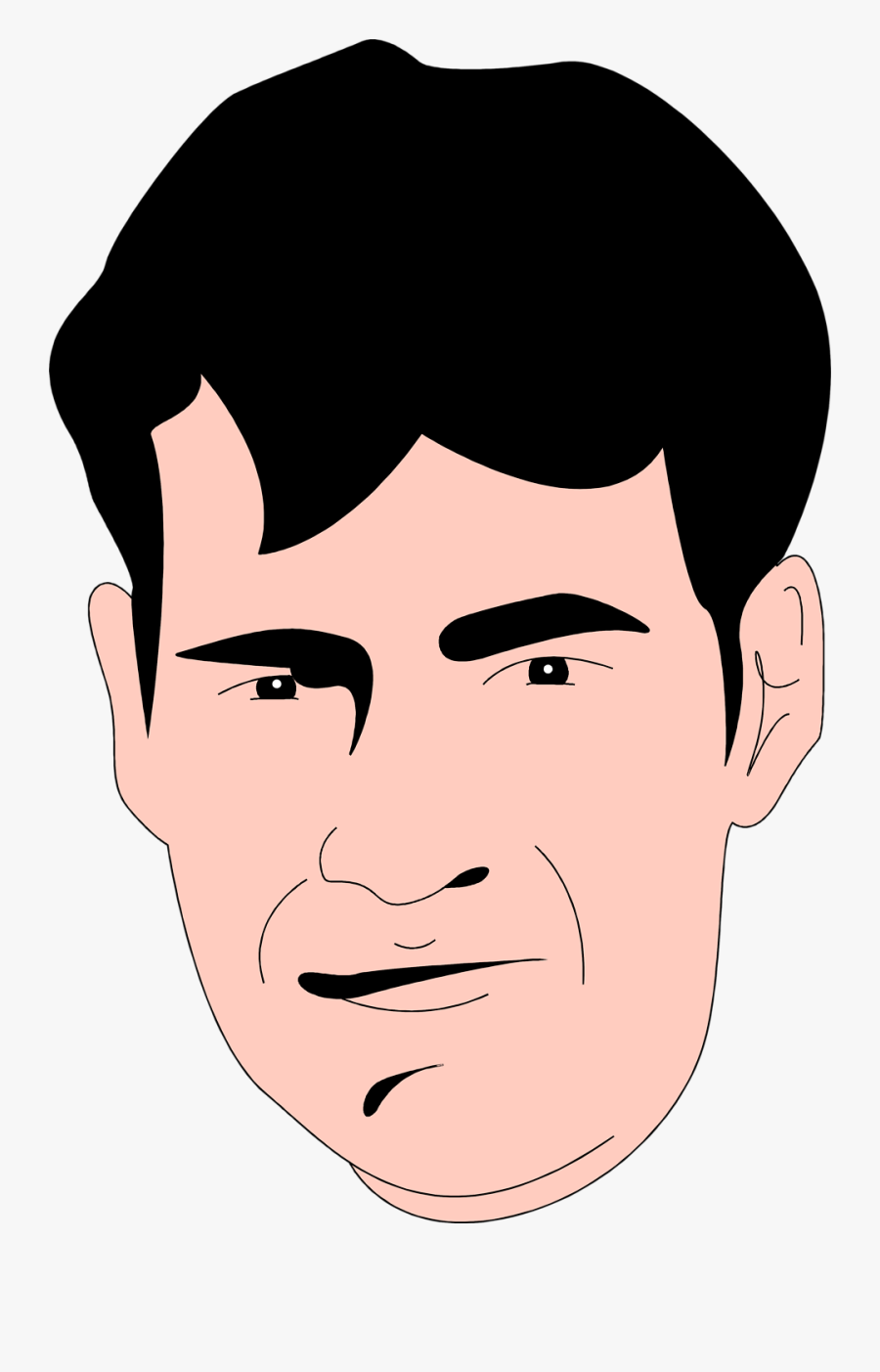 Men Clipart Man Face.