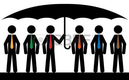 Man In Black Under An Umbrella Stock Photos Images. Royalty Free.