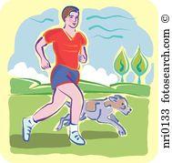 Jogging park Clip Art and Stock Illustrations. 72 jogging park EPS.