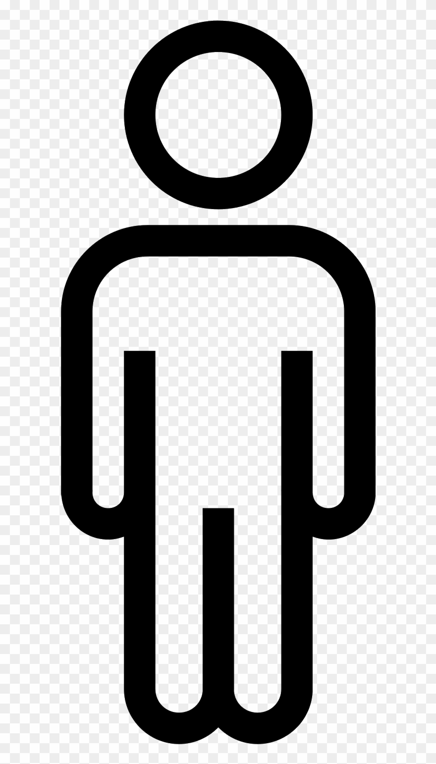 Person Outline Png.