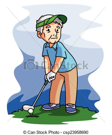 Playing golf Illustrations and Clip Art. 10,434 Playing golf.