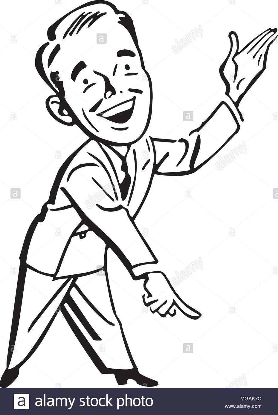 Pointing Man.
