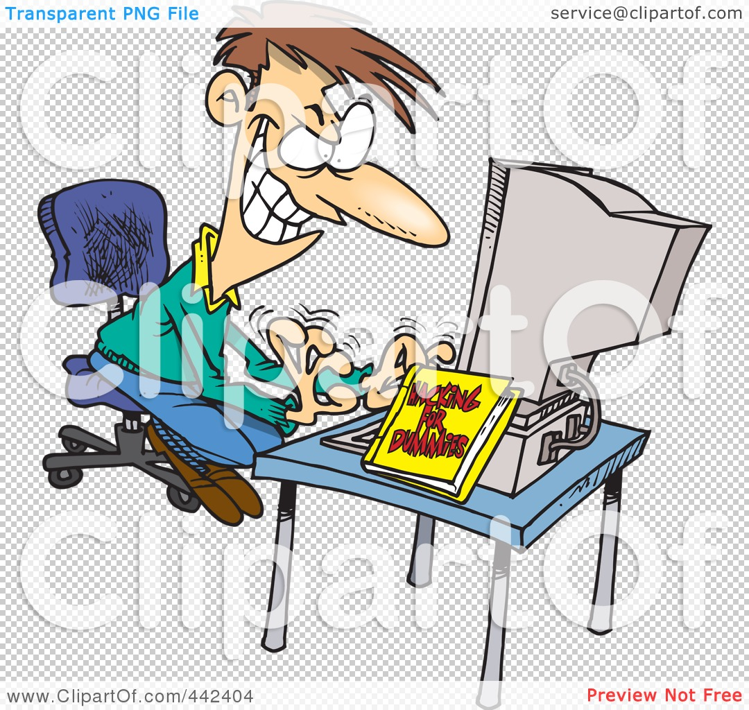 Man Caricature Clipart PowerPoint.