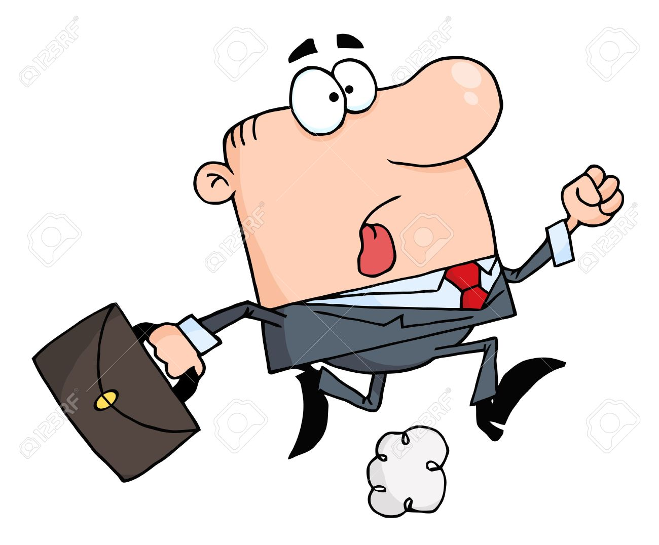 Showing post & media for Cartoon briefcase person.
