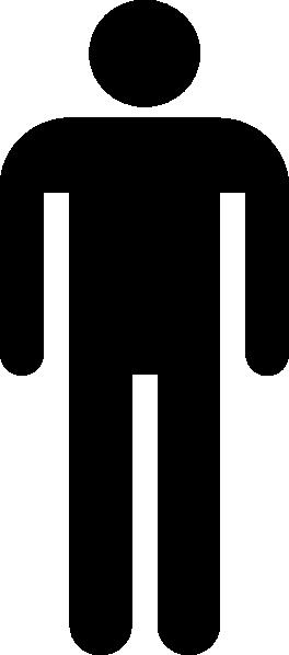 Man Silhouette Black Clip Art at Clker.com.