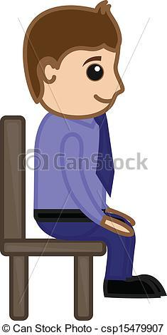 Man sitting on chair clipart 1 » Clipart Portal.