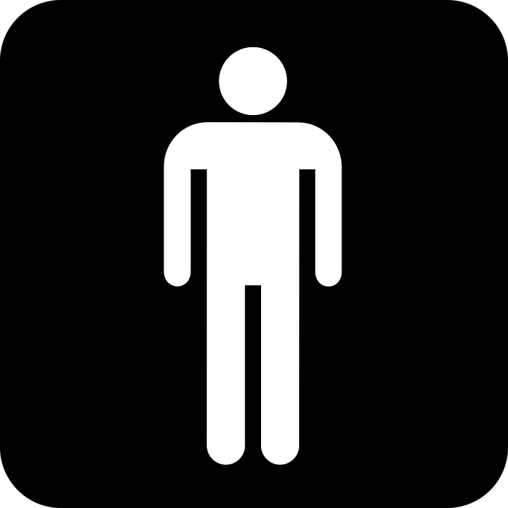 Free vector graphic: Man, Men, Human, Wc, Toilet, Symbol.