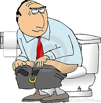 Showing post & media for Someone using the toilet cartoon.
