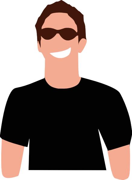 Man In Sunglasses Clip Art at Clker.com.