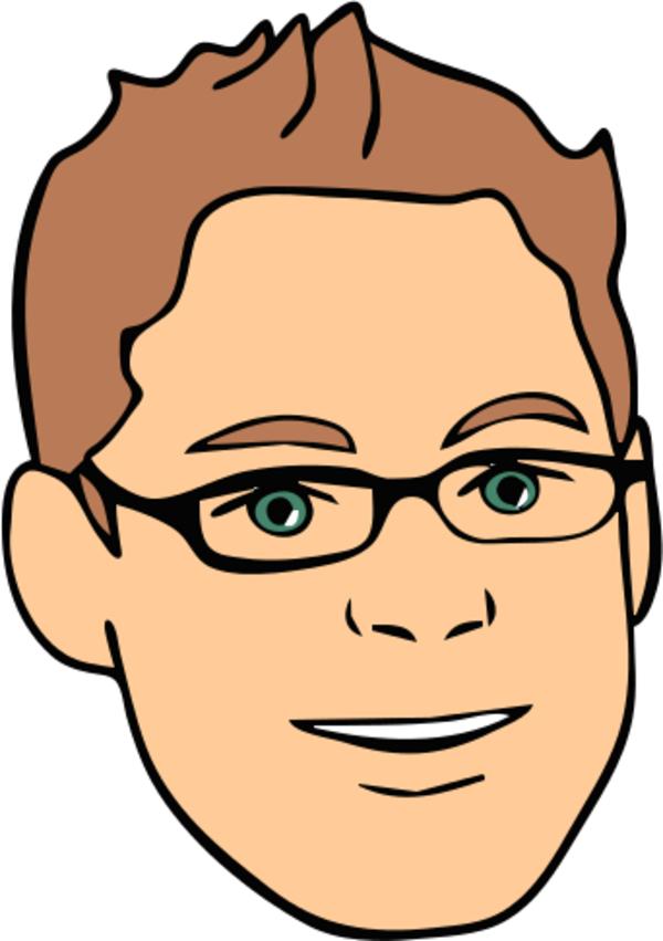 Face Avatar Man Male Glasses 1.
