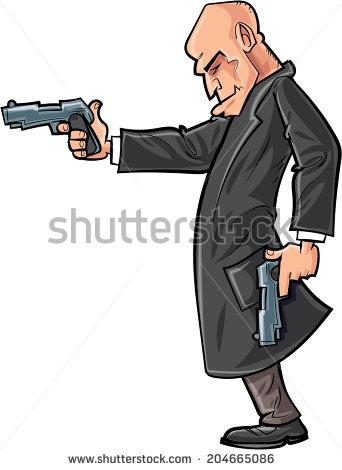 Showing post & media for Cartoon man gun.